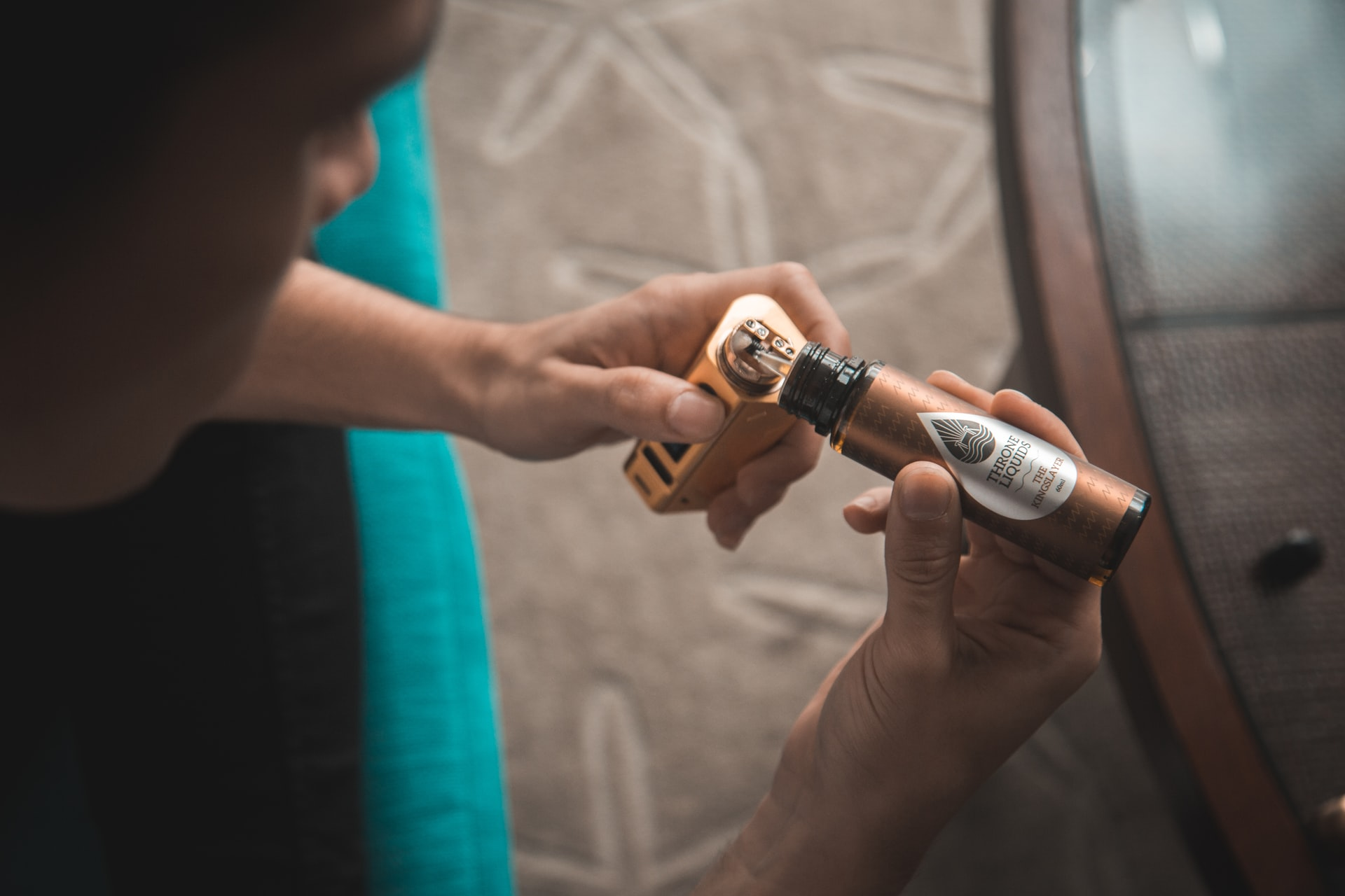 Les recharges de cigarettes électroniques