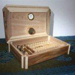 Une cave à cigares personnalisée réalisée par un ébéniste
