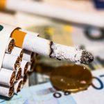 Le paquet de cigarettes augmente à nouveau en mars 2020