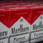 Certaines marques de paquets de cigarettes interdites à la vente