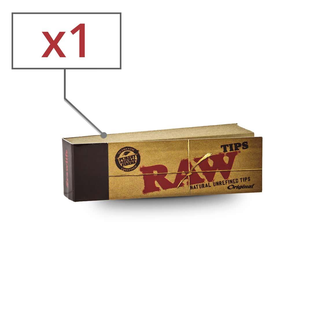 filtre en carton raw