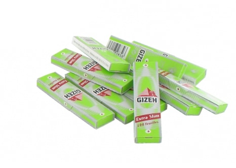 Papier à rouler Gizeh Extra Slim x 10