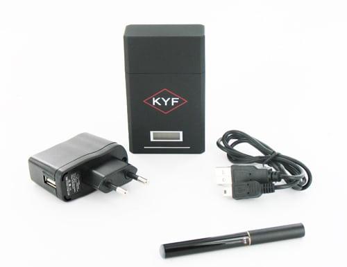 Cigarette électronique noire KYF Kit Box