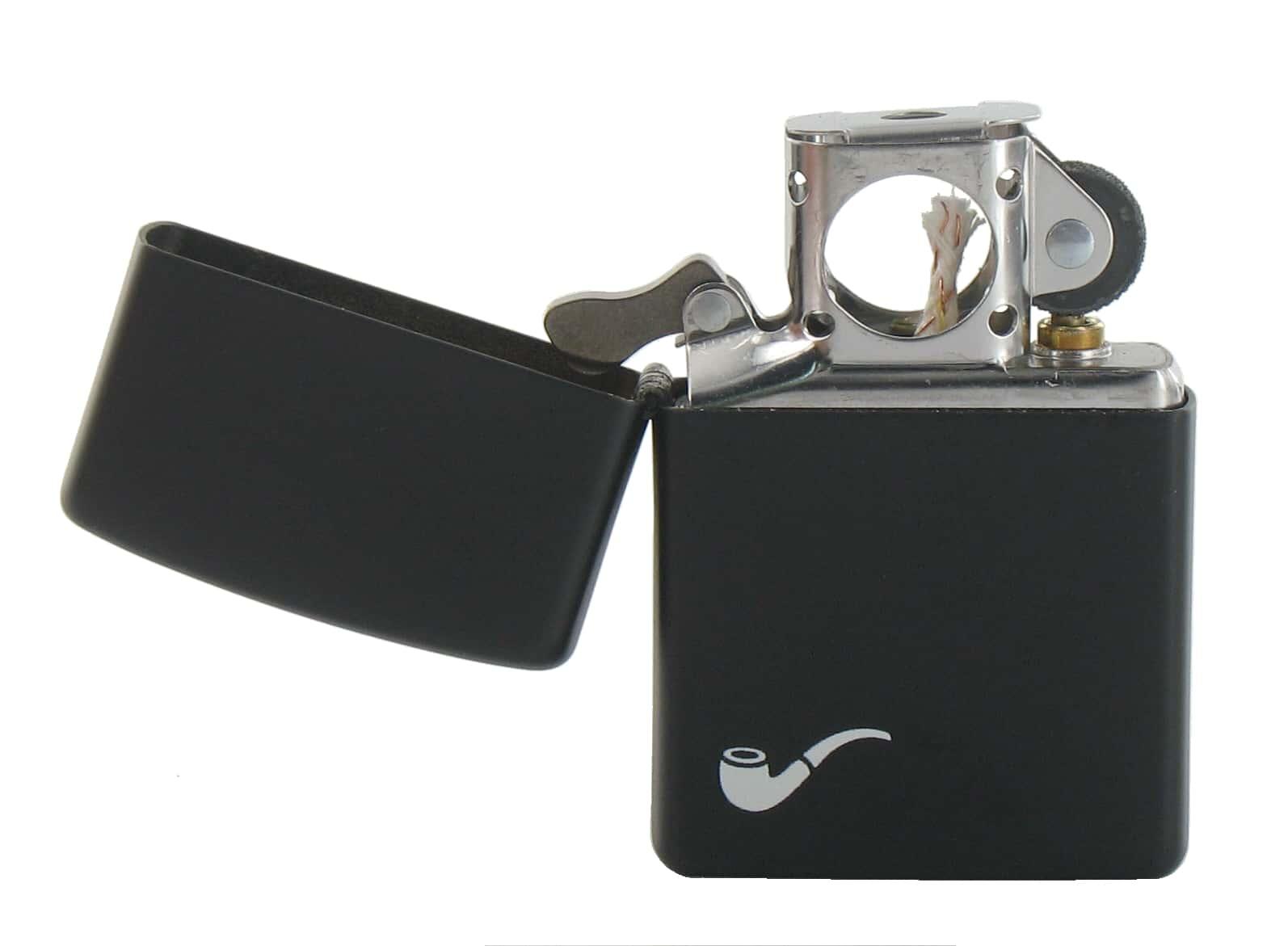 Zippo pipe noir mat 42 00 for Exterieur zippo