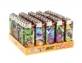 50 briquets Bic mini � pierre Monster