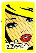 Zippo Pop Art Woman