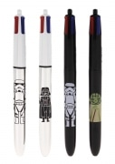 Stylo Bic 4 couleurs Starwars Stormtrooper argent