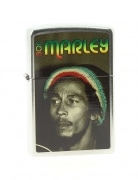 Zippo Bob Marley Street Chrom�