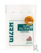 Filtre Gizeh Slim Menthol x10
