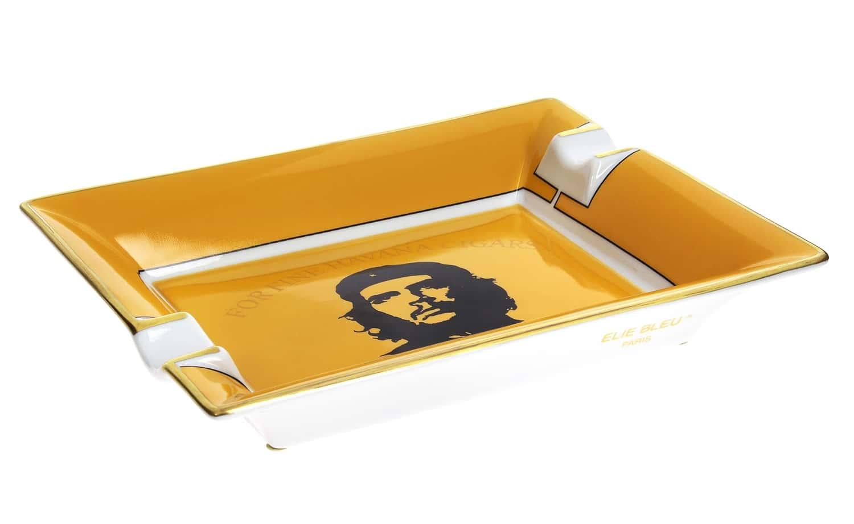 cendrier cigare elie bleu porcelaine ch jaune 285 00. Black Bedroom Furniture Sets. Home Design Ideas
