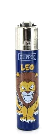 Briquet � pierre Clipper Astrologie Lion