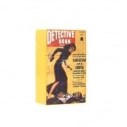 Etui paquet de cigarette fiction vintage Jaune detective book