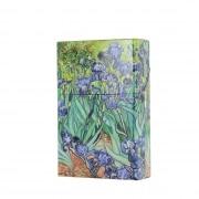 Etui paquet de cigarette Iris de Van Gogh