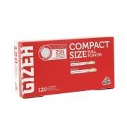 Boite de 120 tubes Gizeh Compact Size avec filtre x 1
