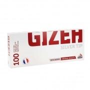 Boite de 100 tubes Gizeh Silver Tip avec filtre x 1