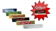 Pack d�couverte Feuilles � rouler Slim Smoking