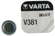 Pile Oxyde d'Argent Varta V381