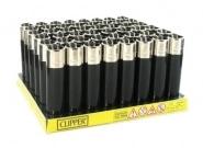 48 briquets à pierre Clipper All Black