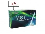 Boite de 100 tubes Menthol MCT avec filtre x 5