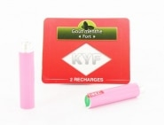 2 Recharges roses Go�t Menthe nicotine fort Cigarette KYF