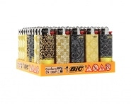 50 briquets Bic mini à pierre Curtain