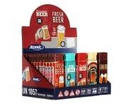 50 Briquets jetables Atomic Retro Bière