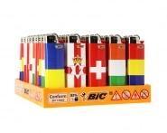 50 briquets Bic maxi � pierre Euro flag