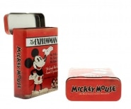 Boite a cigarette Mickey Mouse Rouge
