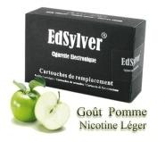 5 Recharges Go�t Pomme nicotine l�ger Cigarette Edsylver