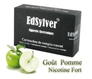 5 Recharges Go�t Pomme nicotine fort Cigarette Edsylver