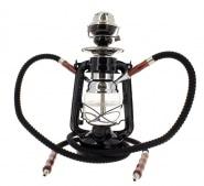 Chicha Coney Lampe à pétrole LED Noire