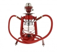 Chicha Coney Lampe � p�trole LED Rouge