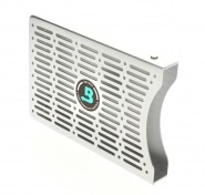 Porte 2 syst�mes d'humidification Boveda M�tal