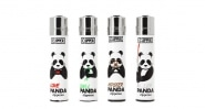 Briquet Clipper x4 panda
