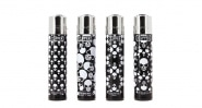 Briquet Clipper x4 skull