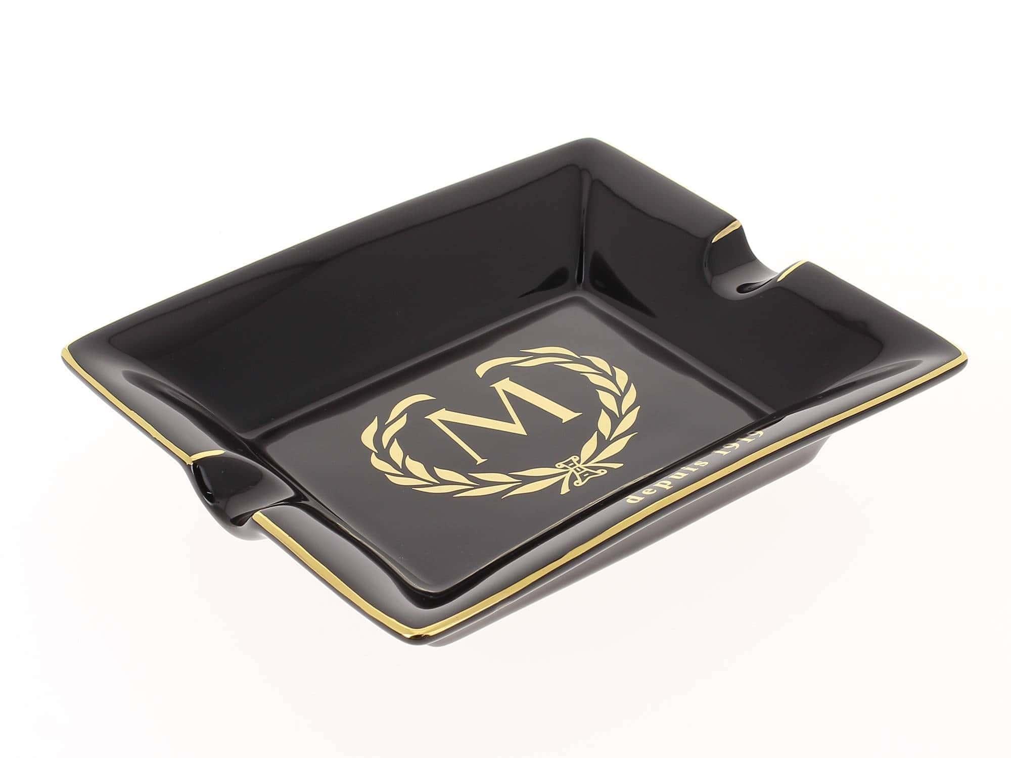 cendrier cigare de luxe noir myon 35 00. Black Bedroom Furniture Sets. Home Design Ideas