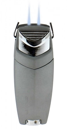 Briquet Lotus Gallant Double Jet Chrome