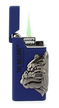 Briquet The Bulldog bleu