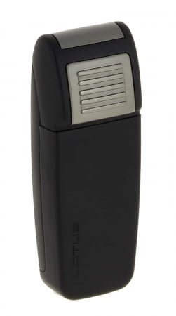 Briquet Lotus Retro Double Jet Noir