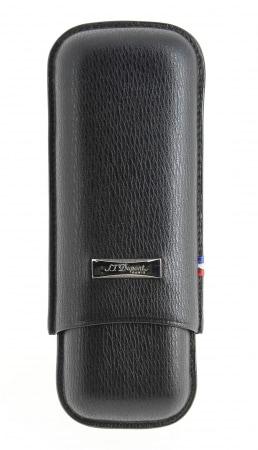 Etui ajustable 2 cigares S.T Dupont Noir