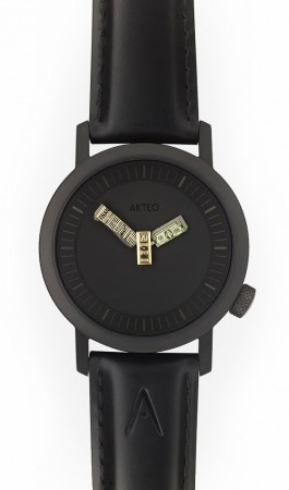 Montre Akteo Finance 42 Black