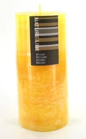 Bougie parfum�e Mangue grand mod�le