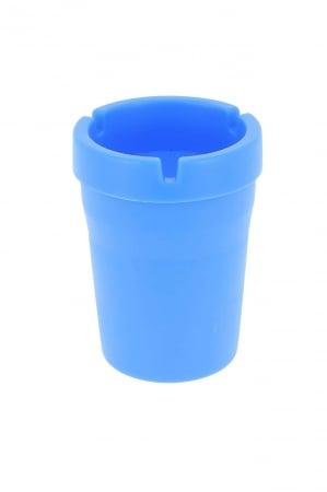Cendrier exterieur design bleu