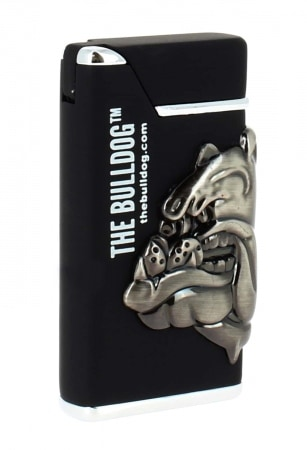Briquet The Bulldog noir