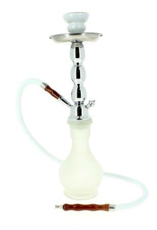 Chicha Frosty 45cm 1 tuyau Blanc