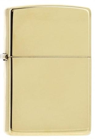 Zippo High Polish brass 850037