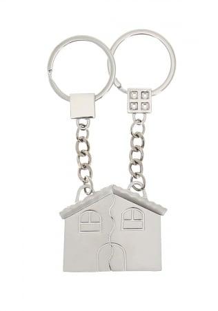 Porte Clés Maison pour deux