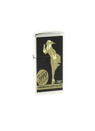 Zippo Collector Chromé Brush Windy numéroté