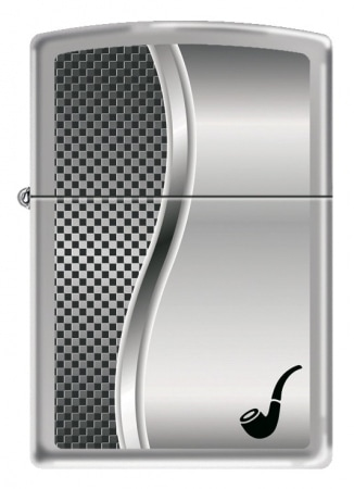 Zippo Pipe Lighter All Chrome