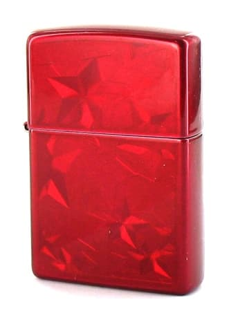 Zippo Candy Apple Red Stars